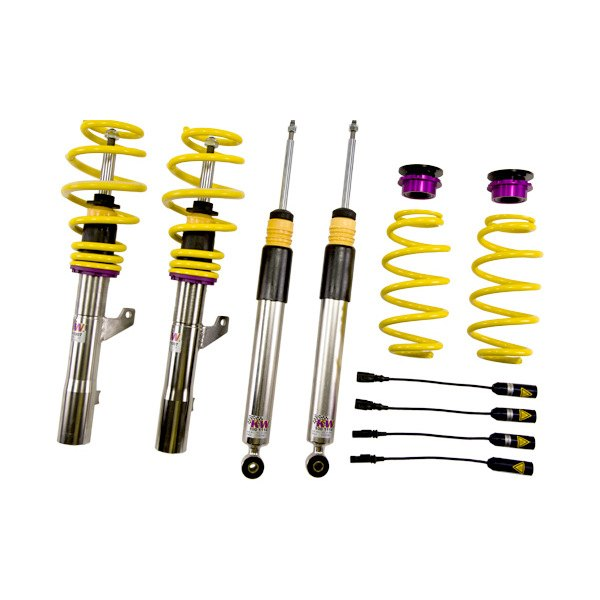 Kw suspensions 35281036 v3 inox line coilover kit for Suspension inox
