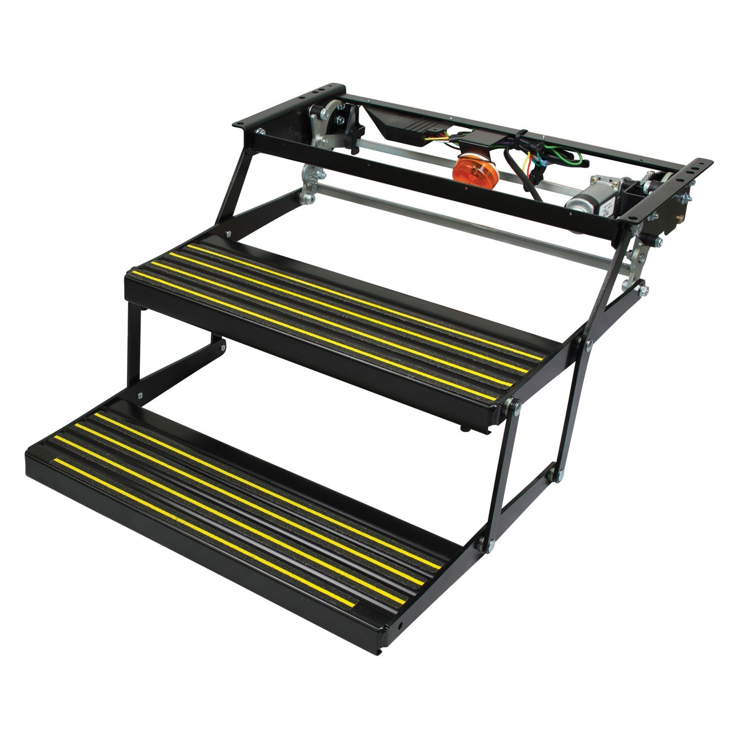 Kwikee 3725791 revolution double electric step for Motorized rv entry steps