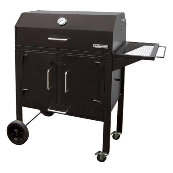 landmann 590131 black dog charcoal and fire grill with. Black Bedroom Furniture Sets. Home Design Ideas