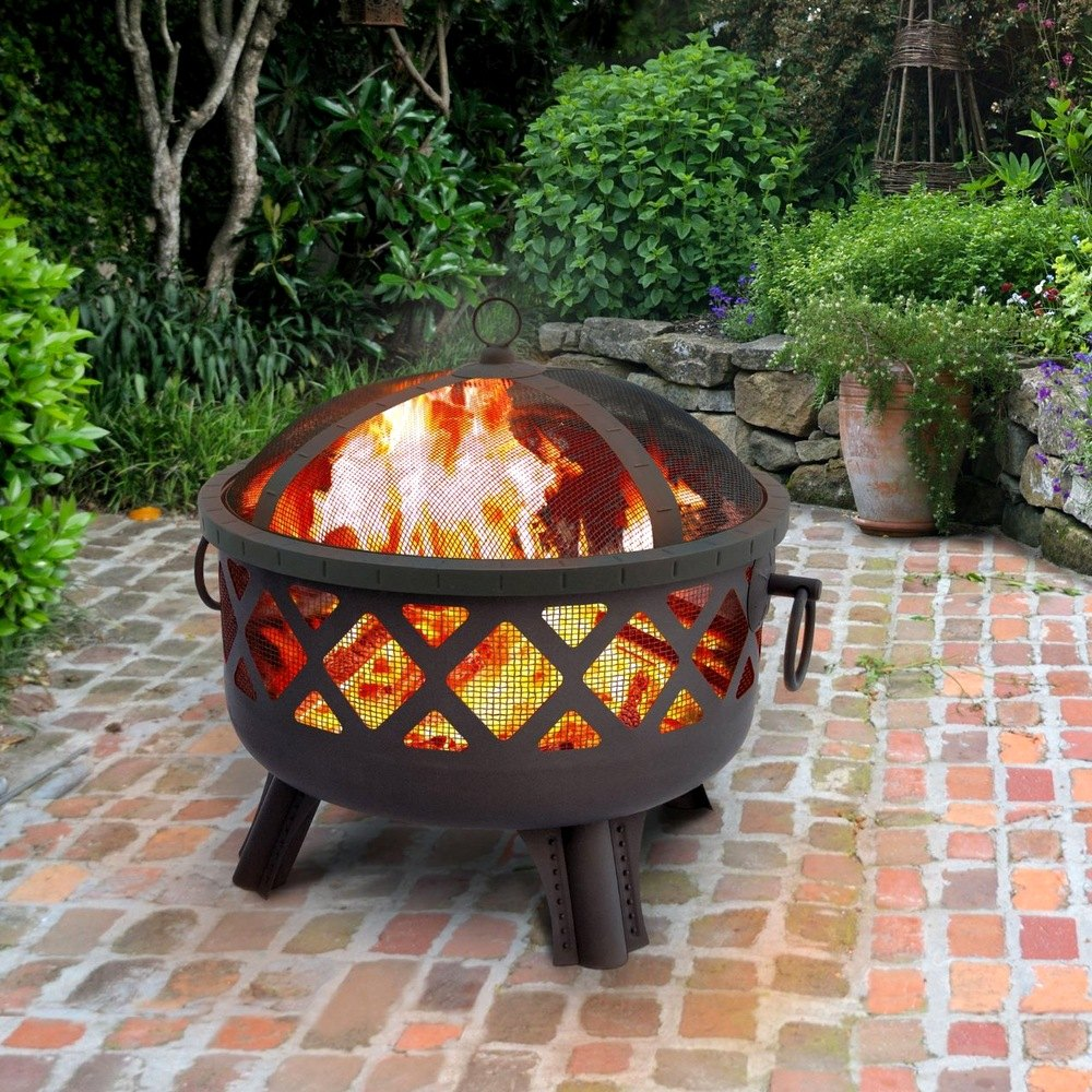 Landmann® 26384 - Garden Lights Sarasota Wood Fireplace
