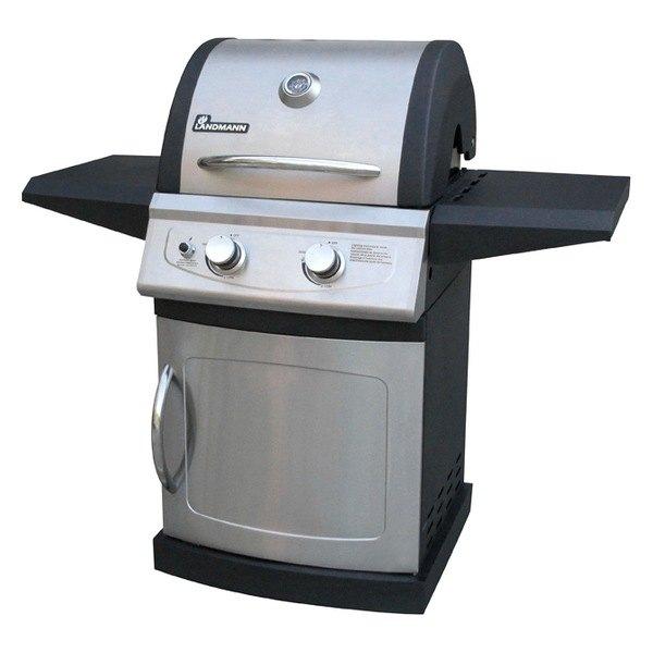 landmann 42202lm fs 2 burner gas grill black ss. Black Bedroom Furniture Sets. Home Design Ideas