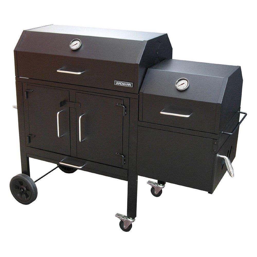 landmann 590135 black dog 42xt charcoal grill and smoker. Black Bedroom Furniture Sets. Home Design Ideas