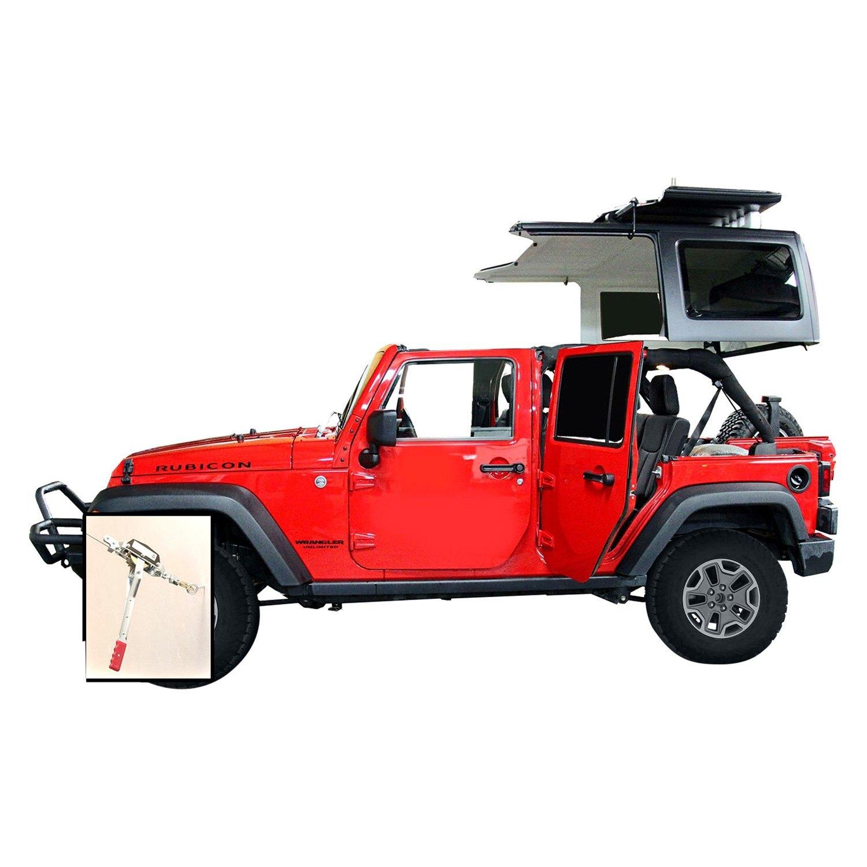 Jeep Soft Tops Reviews Lange Originals® - Jeep Wrangler 2017 Hoist a Top