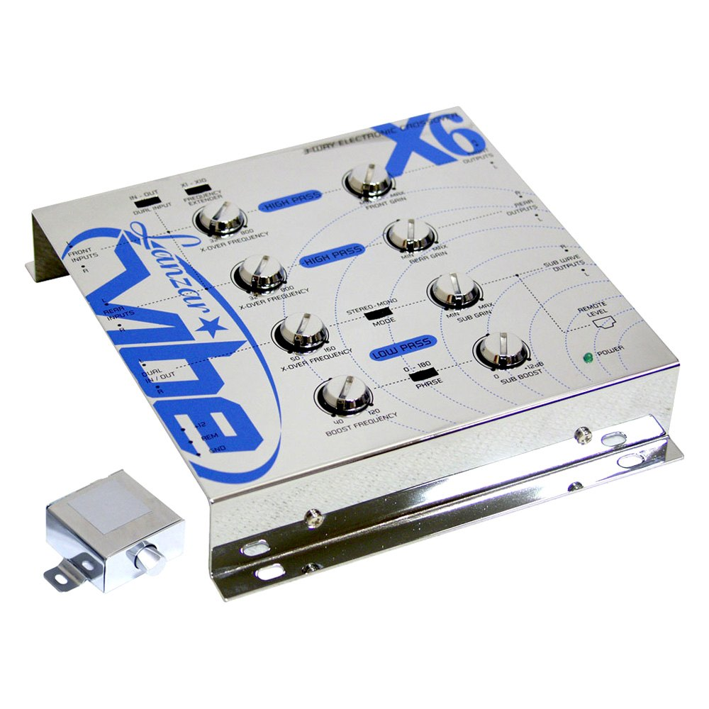 Electronic Crossover Network : Lanzar vibex vibe series way electronic crossover