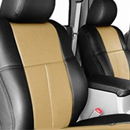 Leathercraft® - Custom Leather Seat Covers - Black & Yellow