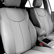 Leathercraft® - Custom Leather Seat Covers - Gray