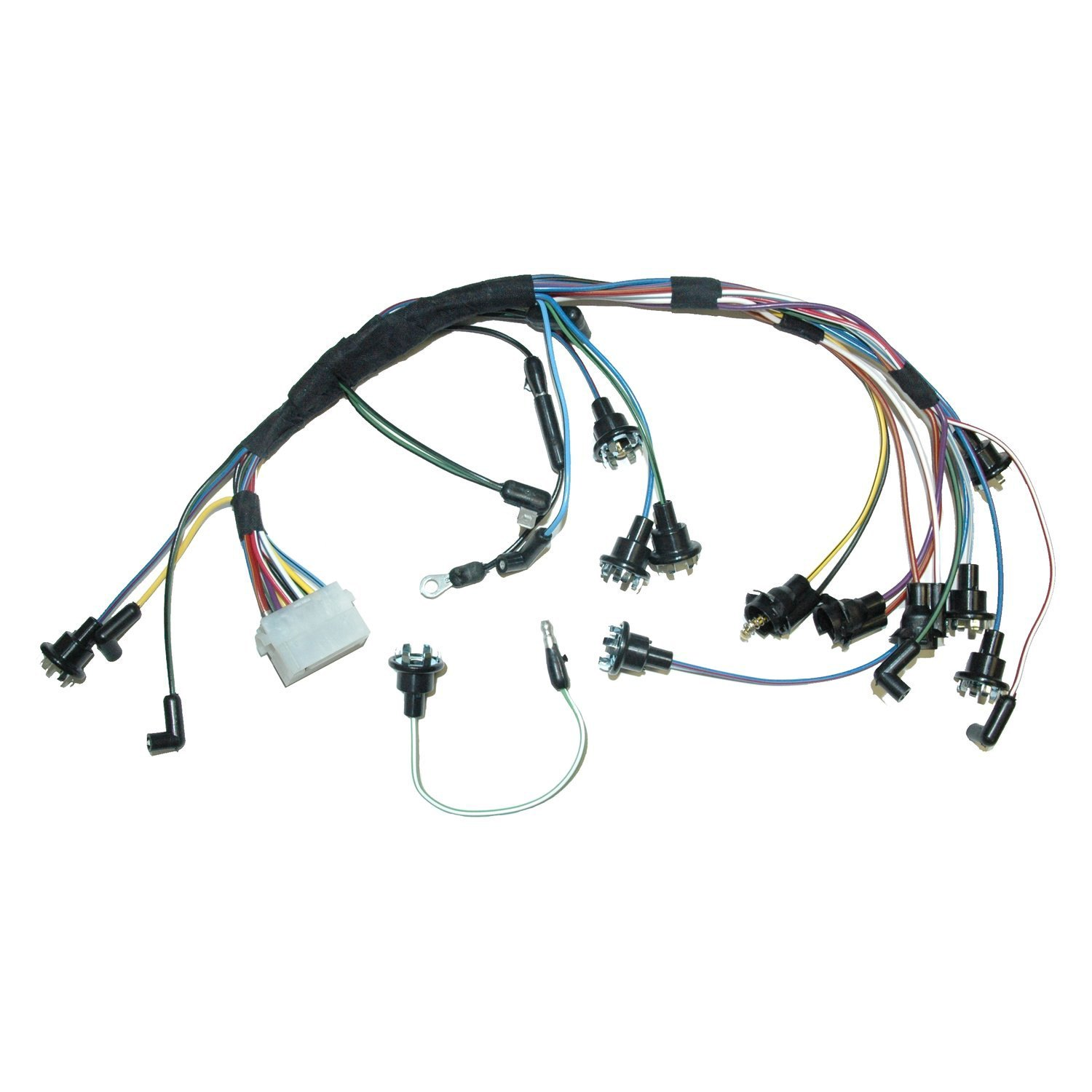 Lectric Limited® - Ford Mustang 1967 Dash Instrument Cluster Wiring Harness | Cluster Wiring Harness |  | CARiD.com