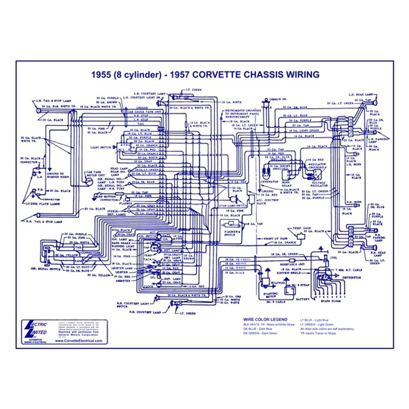 lectric limited� wiring diagram 1962 chevrolet corvette wiring diagram