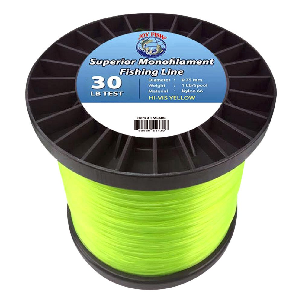Lee fisher li ml030c5 hv 30 lb 7 500 yd monofilament line for 30 lb fishing line
