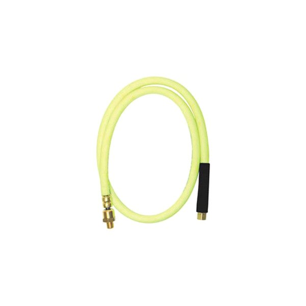 "Legacy Mfg® - Flexzilla Whip Hose 3/8"" x 4' With 1/4"" MPT Ball Swivel"