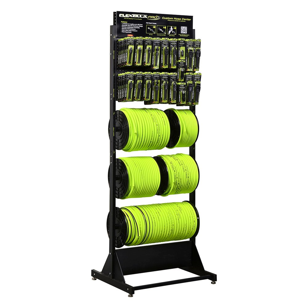 ® HFZBRP1 - Flexzilla Pro Custom Hose Cente Loaded Freestanding Rack