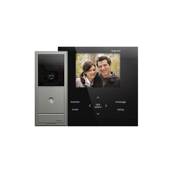 legrand ai6100m1 adorne wireless video intercom kit. Black Bedroom Furniture Sets. Home Design Ideas