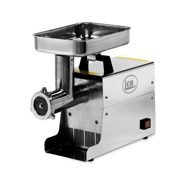 Electric Meat Grinders With Metal Gears ~ Lem products hp stainless steel electric meat grinder