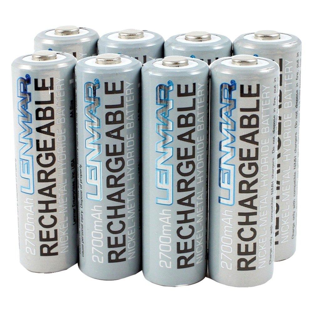 Nickel Metal Hydride Battery : Lenmar pro aa size nickel metal hydride general