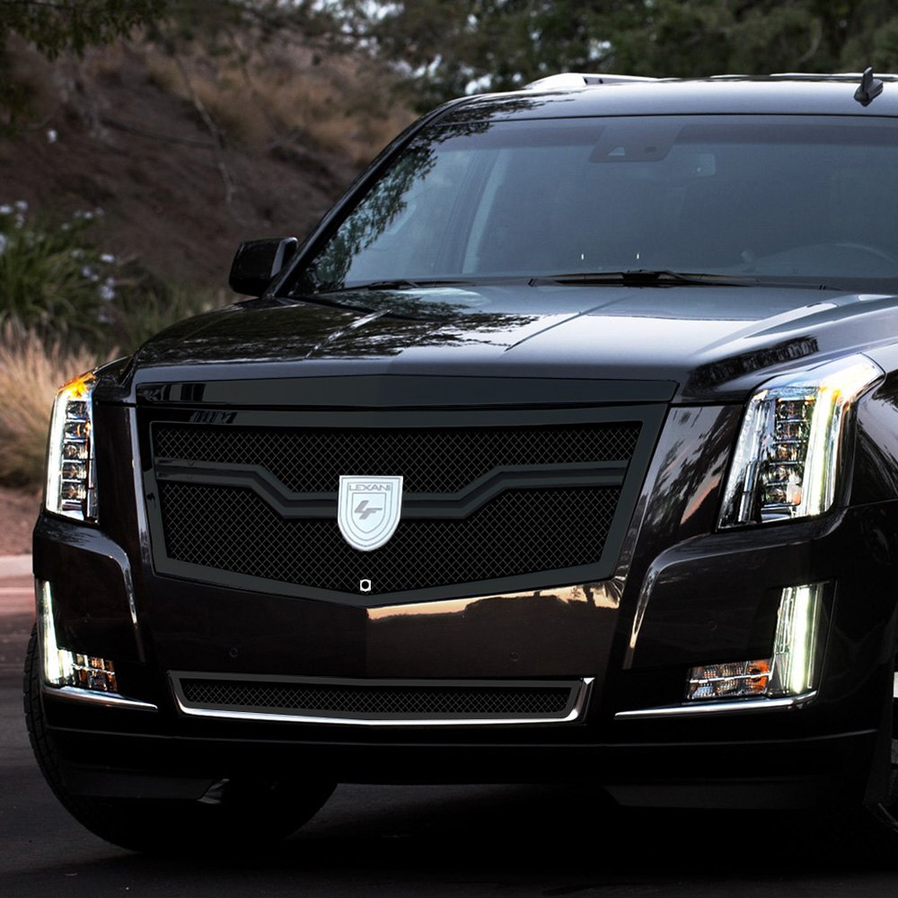 Cadillac Escalade 2015 Used: Cadillac Escalade 2015 Milan Style Black Mesh