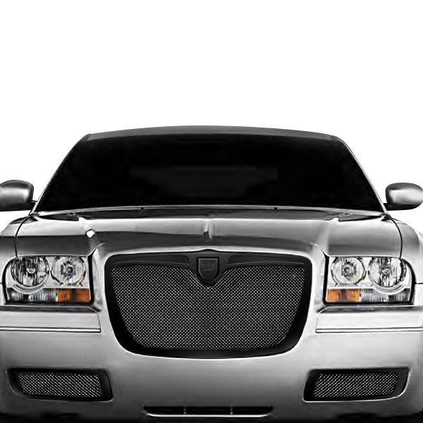 Chrysler 300 2008 Classic Style Black Mesh Grille
