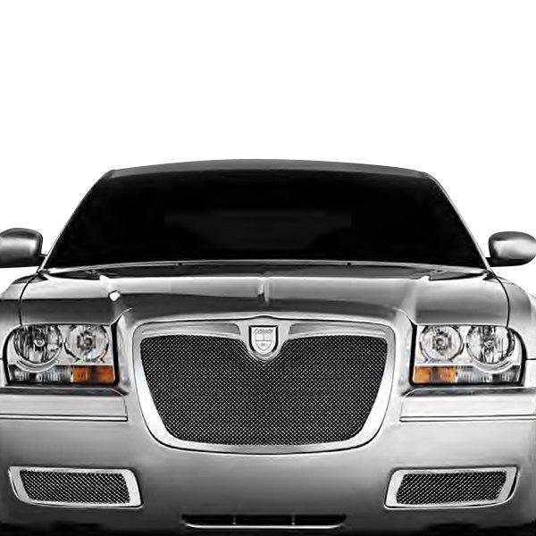 Chrysler 300 2010 Classic Style Black Mesh Grille