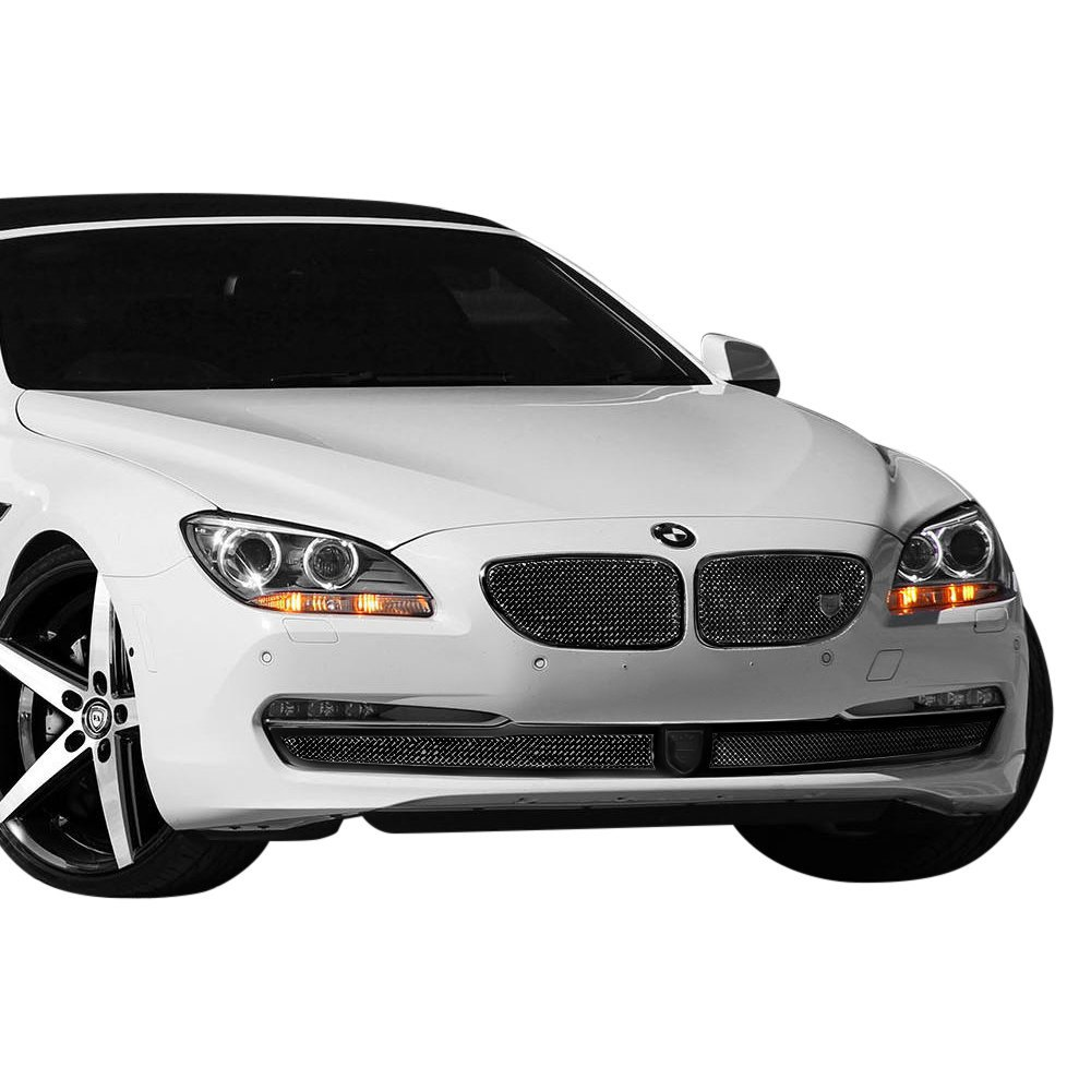 Bmw 6501 Price: BMW 650i 2012 Classic Style Black Mesh Grille