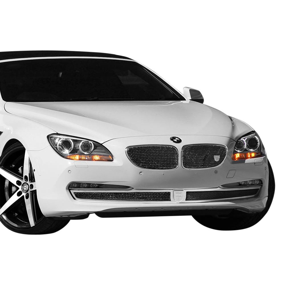 BMW 650i 2013 Classic Style Black Mesh Grille