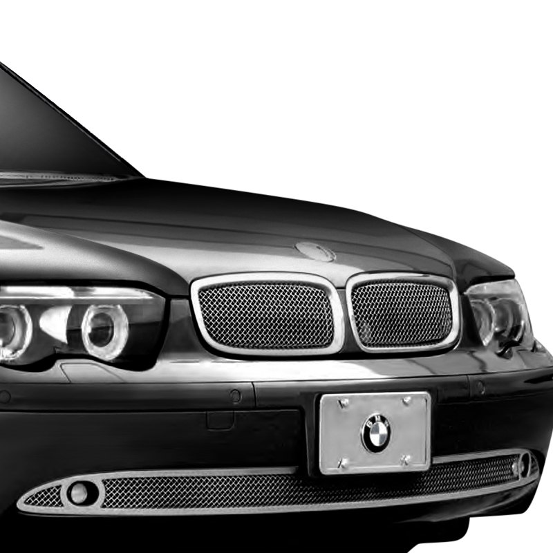 BMW 745i / 745Li 2002 Classic Style Chrome Mesh