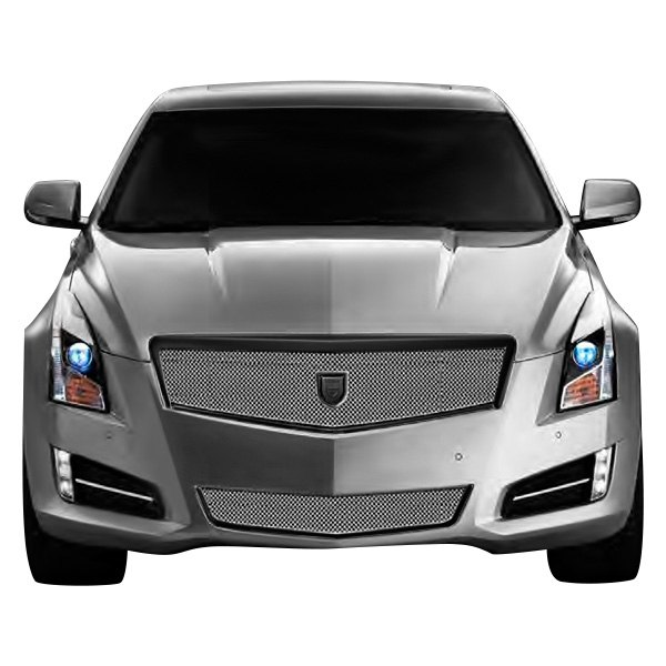 Cadillac 2013 Price: Cadillac ATS 2013-2014 Barcelona Style Chrome Mesh Grille
