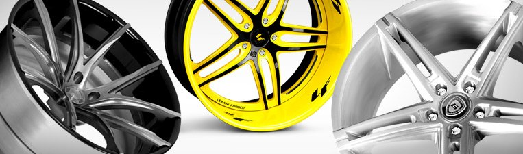 Lexani Forged Alloy Wheels