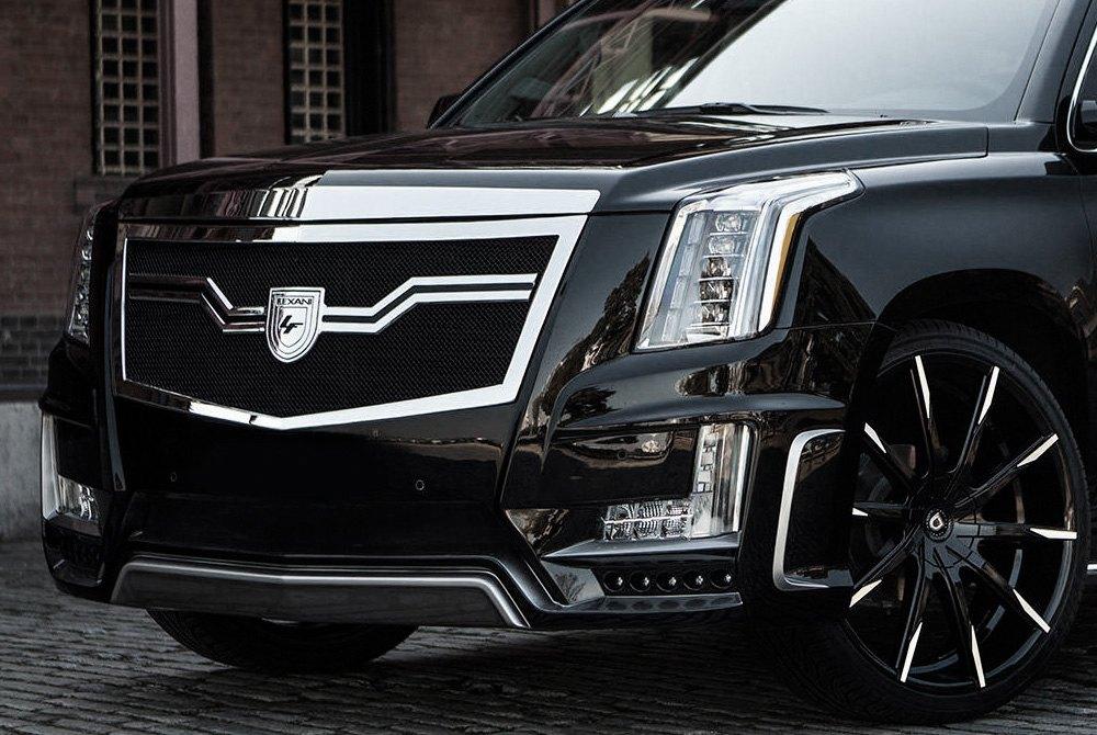 Lexani grilles luxury custom grilles for Cadillac escalade custom interior