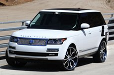 Lexani Tires on Land Rover Range Rover