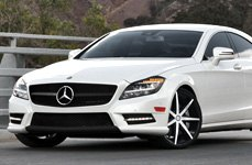 Lexani Tires on Mercedes CLS Class