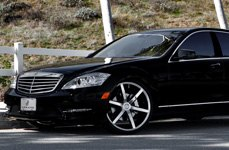 Lexani Tires on Mercedes S Class