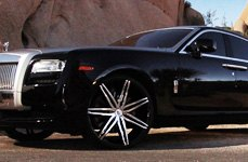 Lexani Tires on Rolls Royce Ghost