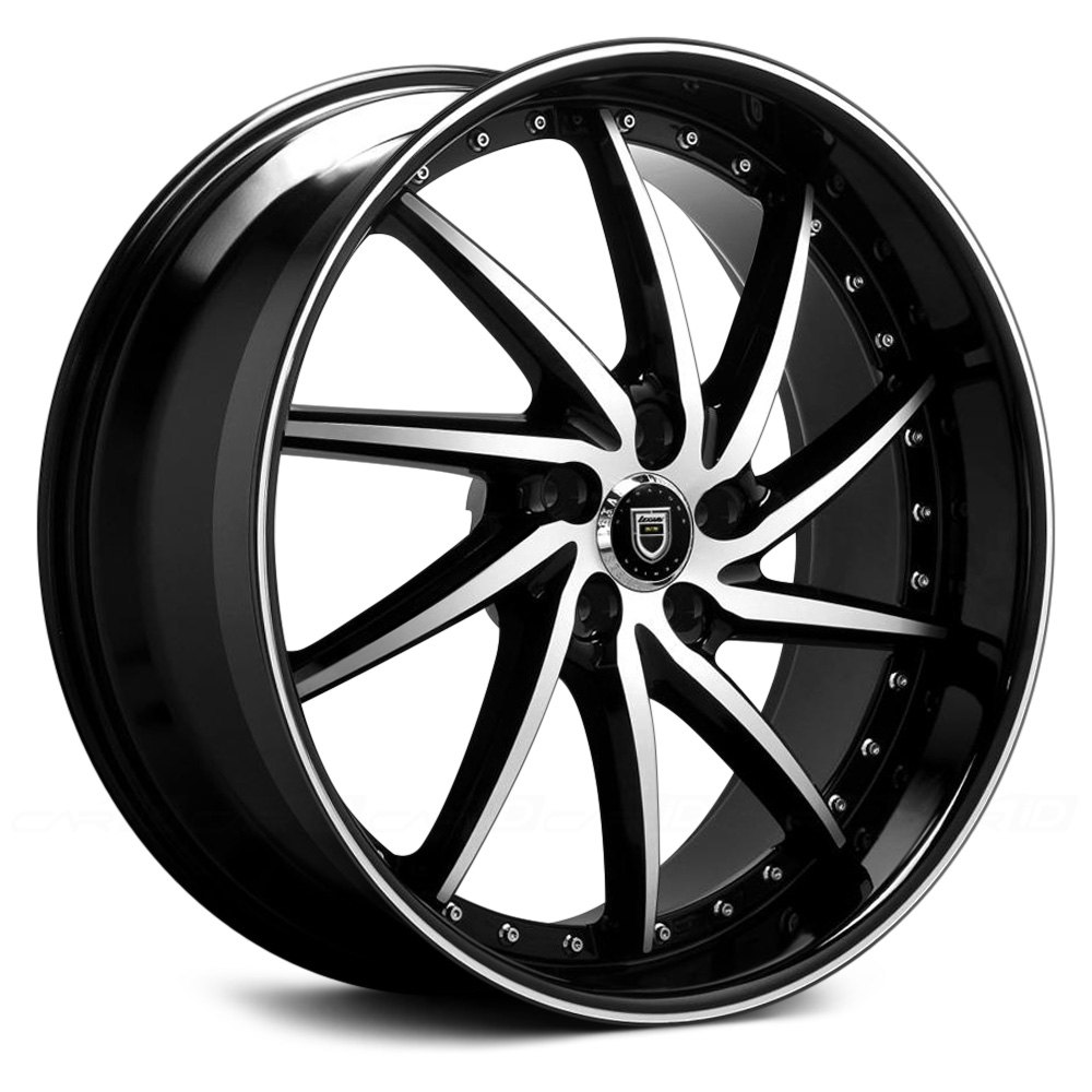 lexani artemis wheels black with machined face and stripe rims. Black Bedroom Furniture Sets. Home Design Ideas