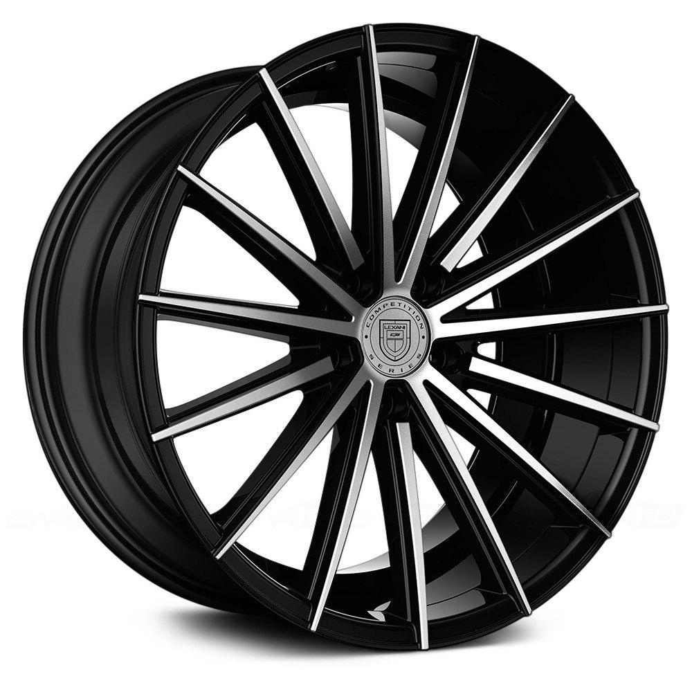 lexani pegasus wheels gloss black with machined face rims. Black Bedroom Furniture Sets. Home Design Ideas