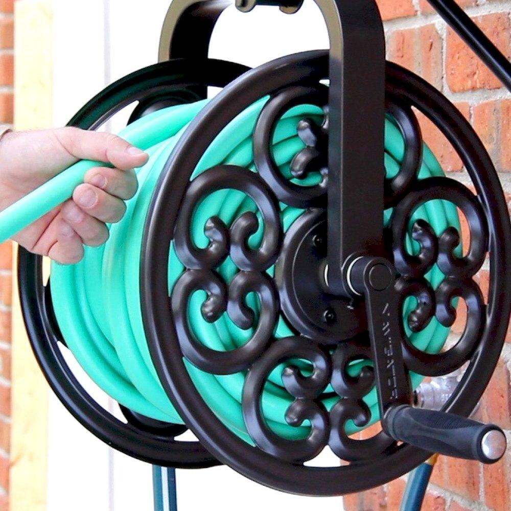 Liberty Garden® 710LG - Navigator Rotat Hose Reel Brnz
