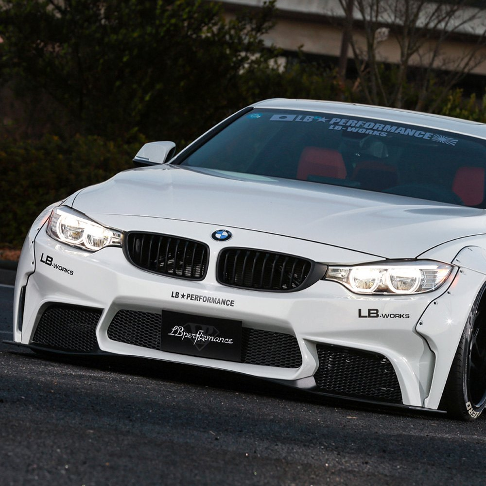 BMW 4-Series Coupe 2014-2015 LB Works