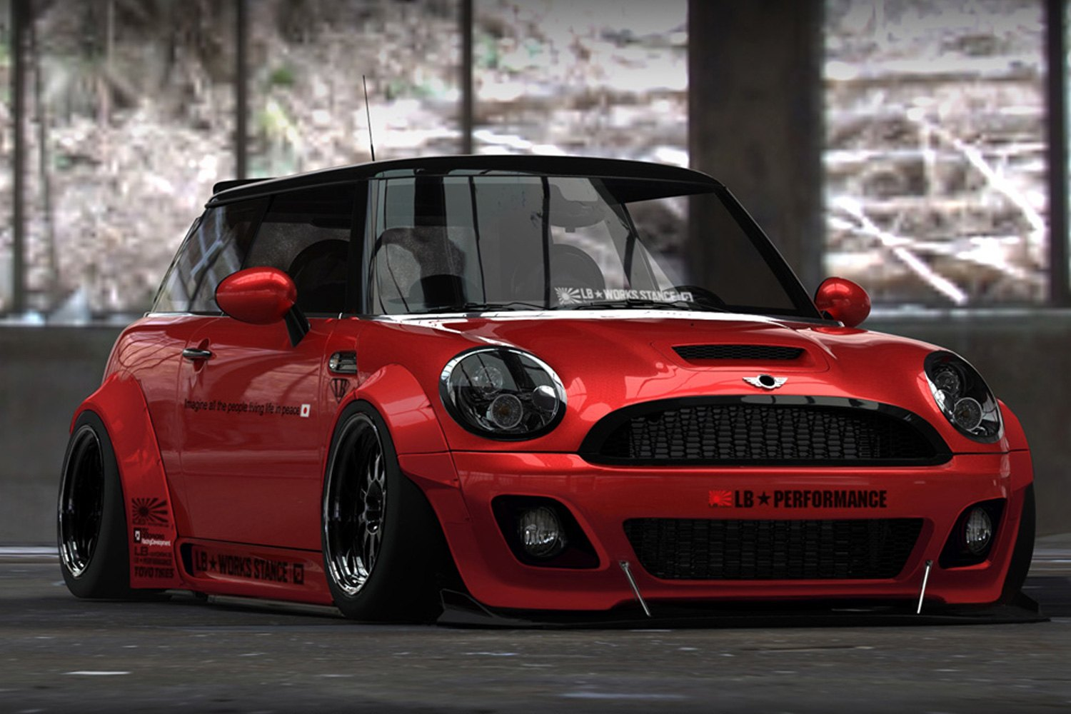Liberty Walk 174 Mini Cooper 2006 2013 Lb Stance Body Kit