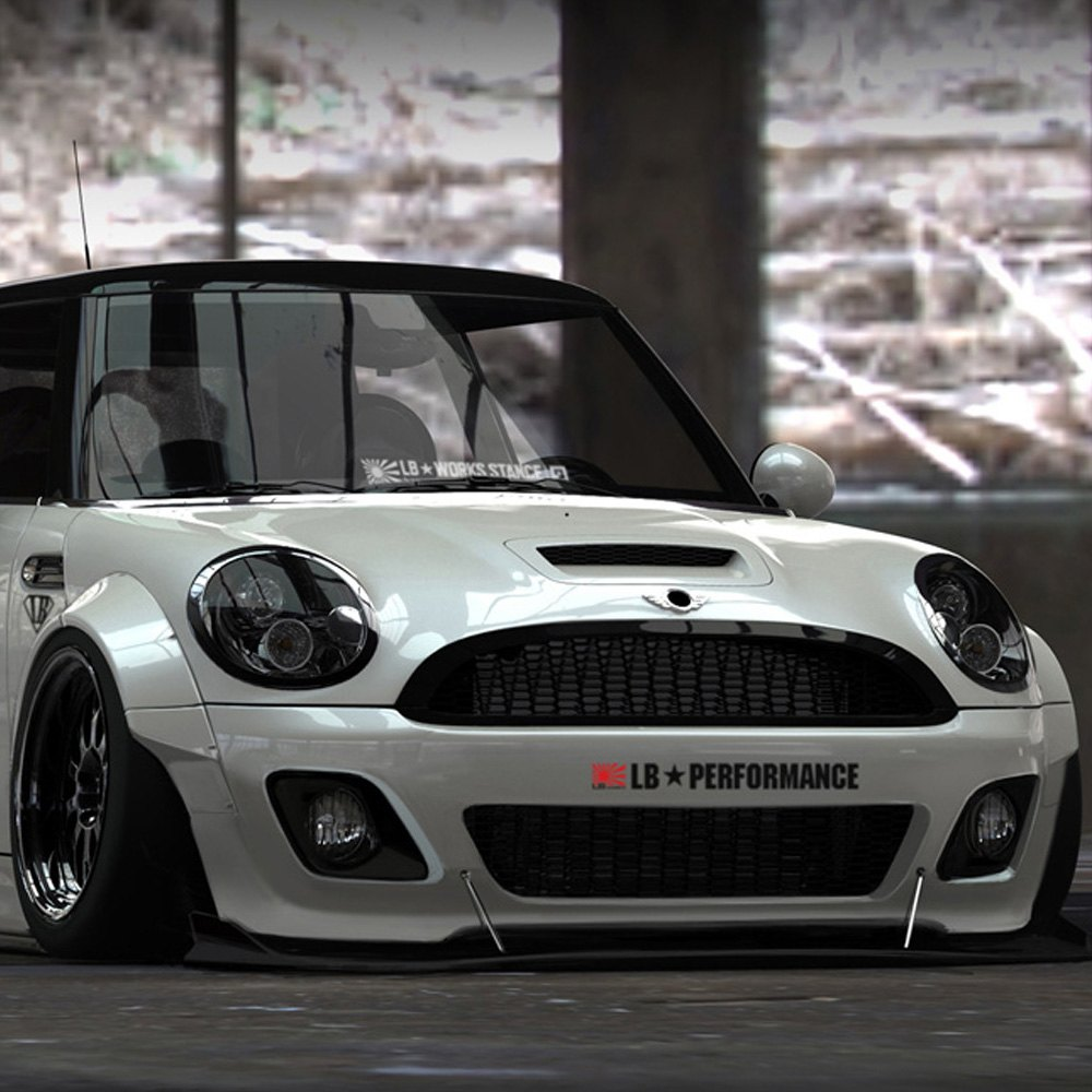 Liberty walk mini cooper 2006 2013 lb stance body kit Mini cooper exterior accessories