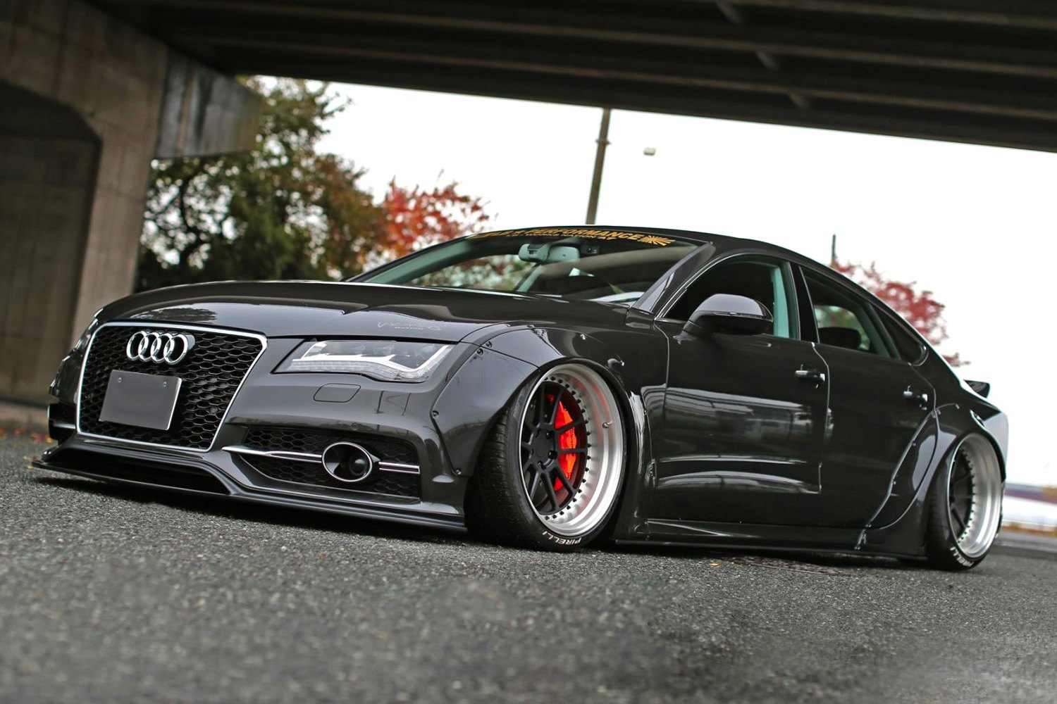 Liberty Walk 174 Audi Rs7 S7 2013 Lb Works Fiberglass