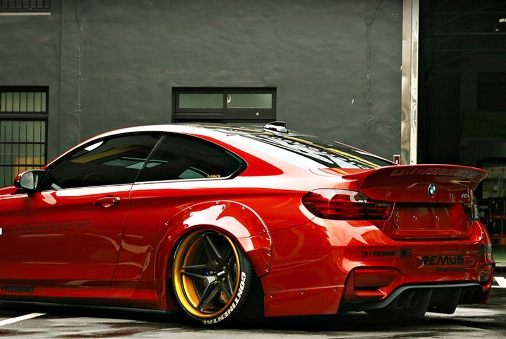 Liberty Walk® BMW-M4-12-TS-CFRP - LB Works™ Custom Style ...