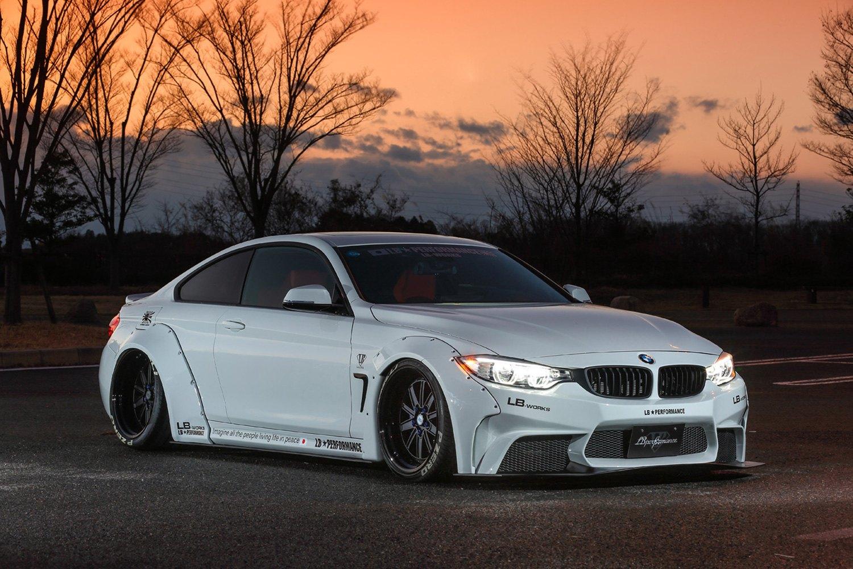Bmw 428i Price >> Liberty Walk® BMW-4-1-KIT-CFRP - LB Works™ Carbon Fiber Complete Body Kit