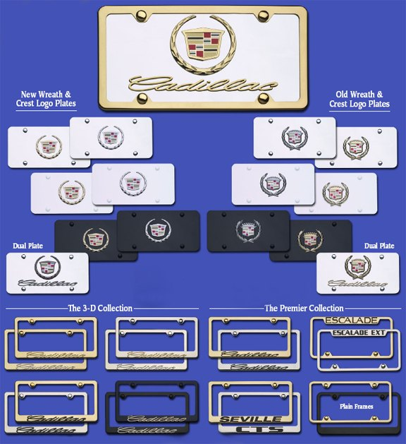 License Plates & Frames 1