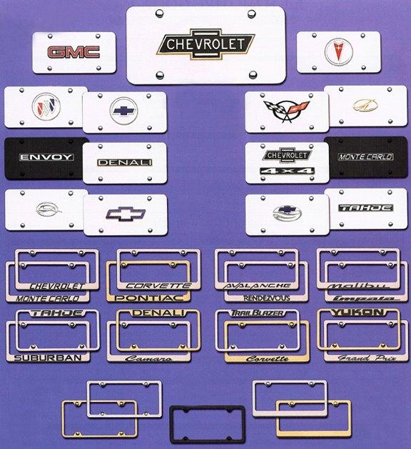 License Plates & Frames 3