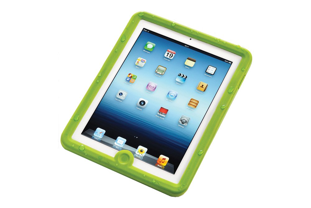 Lifedgeu00ae WP-IPD32GN - Green Waterproof Case for iPad 2, 3, 4