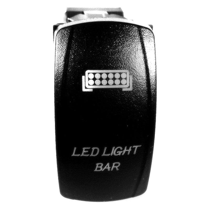 Lifetime LED Lights® LLLLED-LBS-405 - Light Bar SPST Light Red LED ...