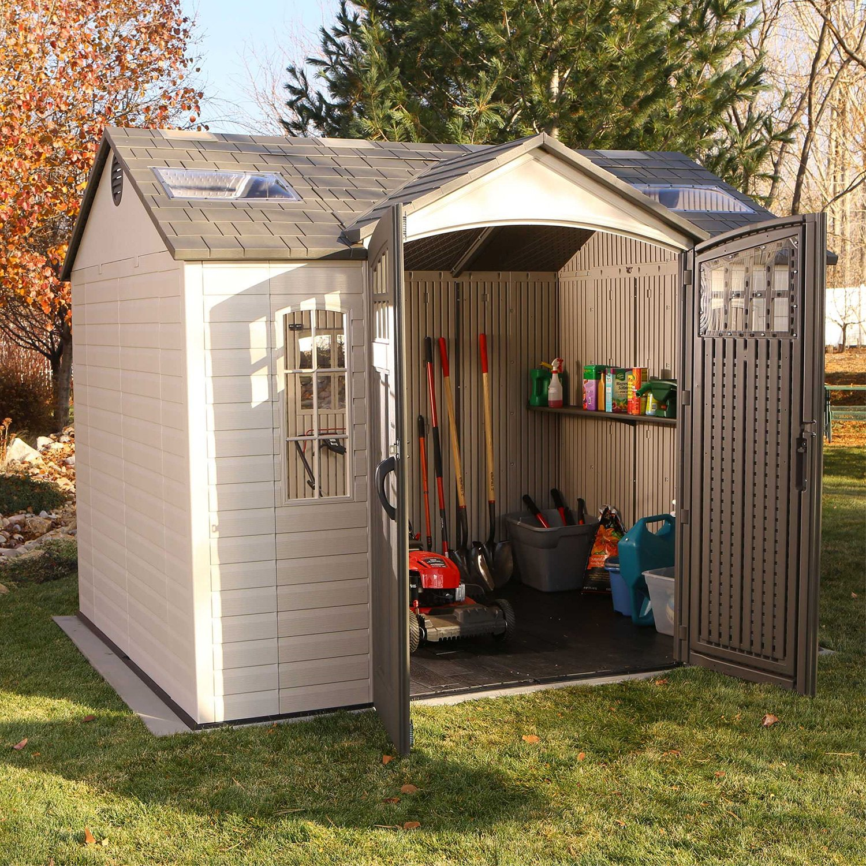 Lifetime®   10u0027 X 8u0027 Outdoor Storage Shed