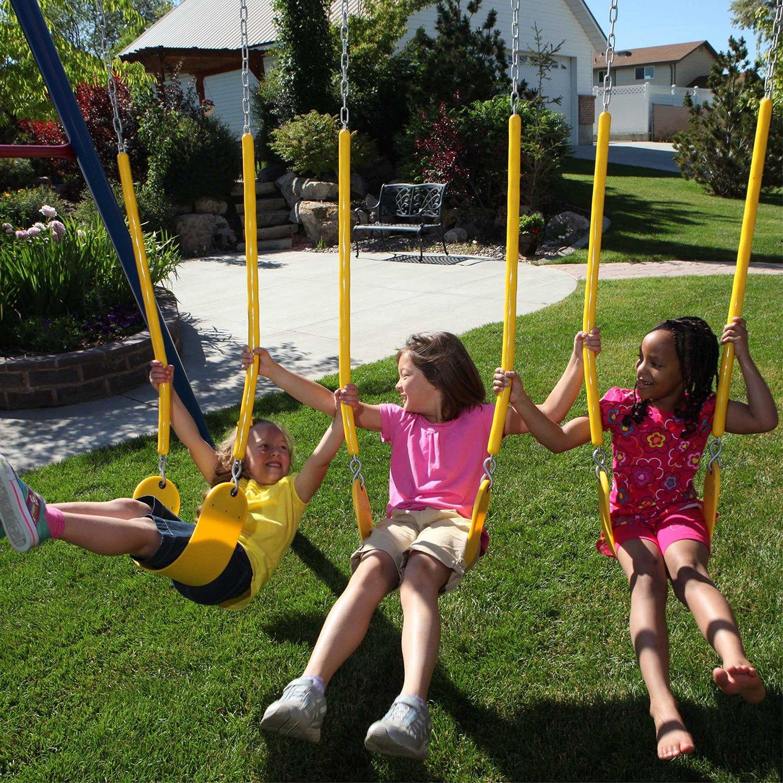 swing garden amazon products outdoor com dp lifetime playset deluxe set adventure tower