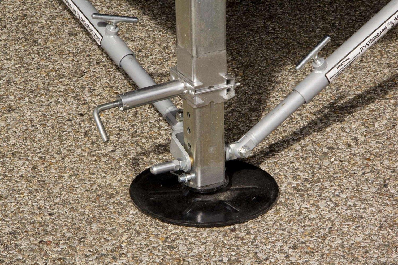 Fifth Wheel Stabilizer : Lippert components  th wheel jack stabilizer kit