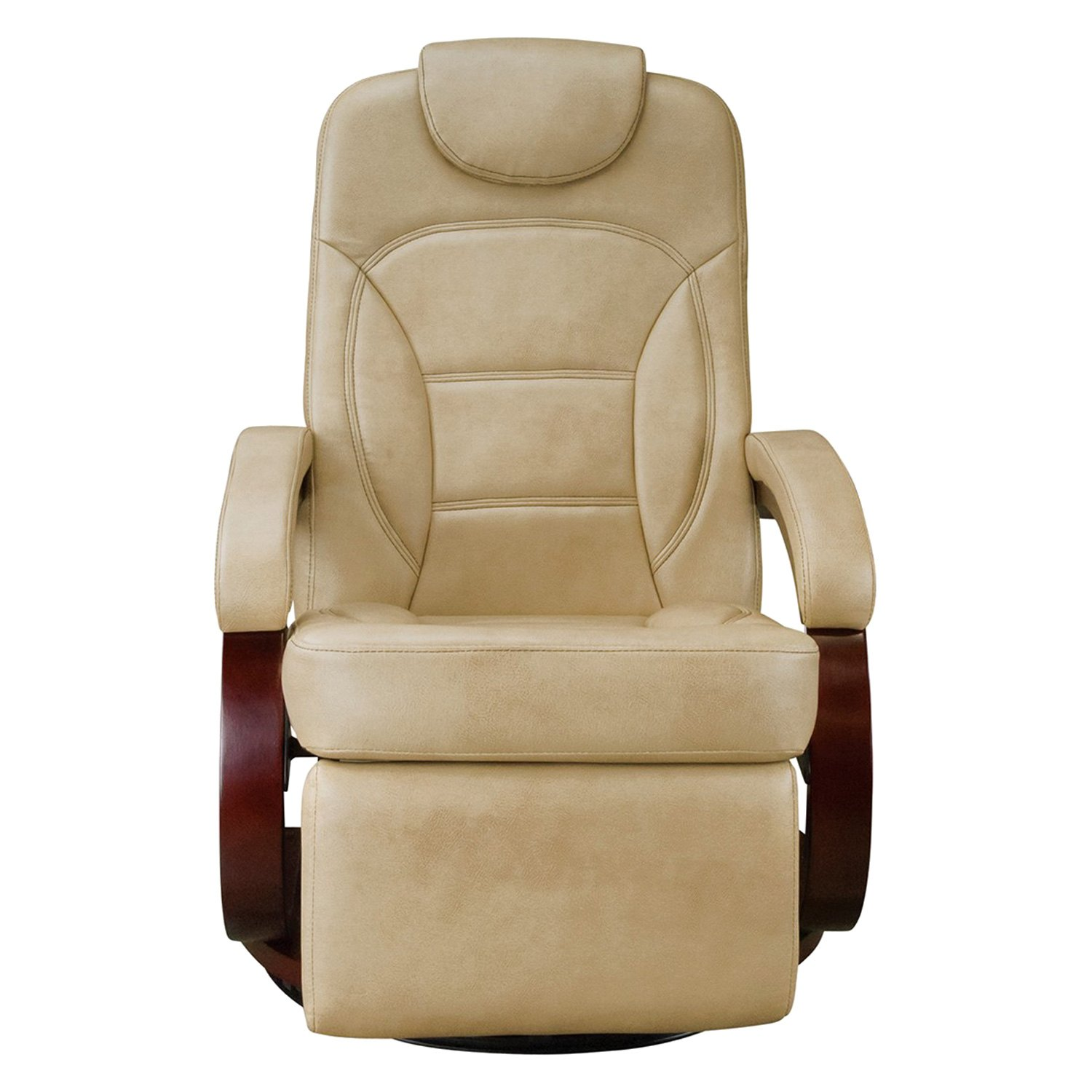 Lippert components euro recliner chair with footrest for Chair recliner