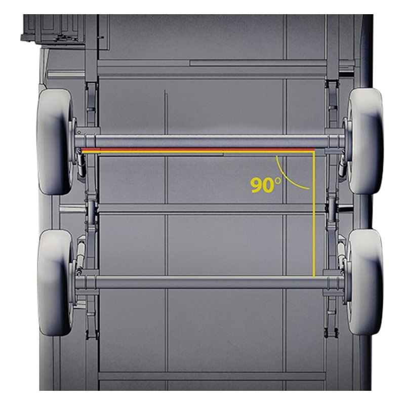 Lippert Components 87220 Correct Track Tandem Axle
