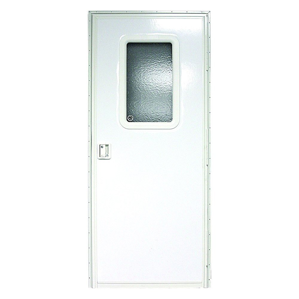 Lippert Components V000149585 30 X 72 Polar White Passenger Side Square Entry Door